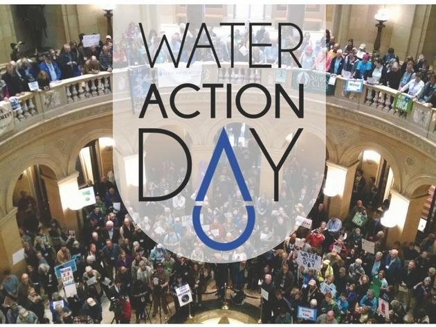 Water Action Day to be held at Minnesota State Capitol on April 10, 2019