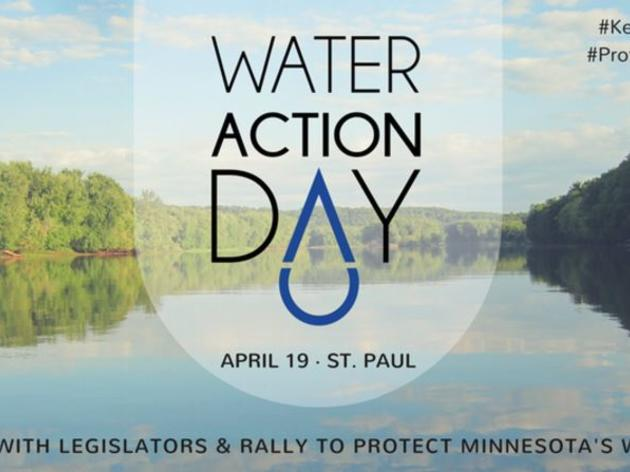 Water Action Day to be held at Minnesota State Capitol on April 19